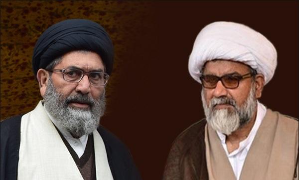 حجج الاسلام والمسلمین سید ساجد علی نقوی و ناصرعباس جعفری