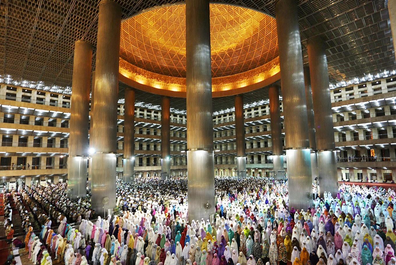 تصفیه خانه فاضلاب برای بزرگترین مسجد شرق آسیا ساخته می شود