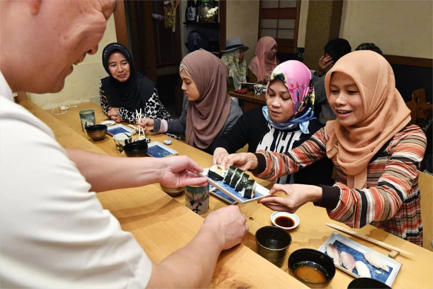 ژاپنی ها رستوران غذای حلال در سنگاپور راه اندازی کردند
