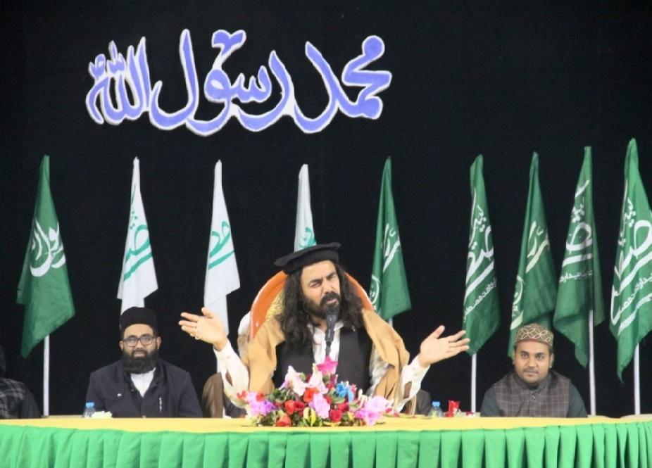 جشن میلاد پیامبر اسلام (ص) در حوزه علمیه عروة الوثقی لاهور