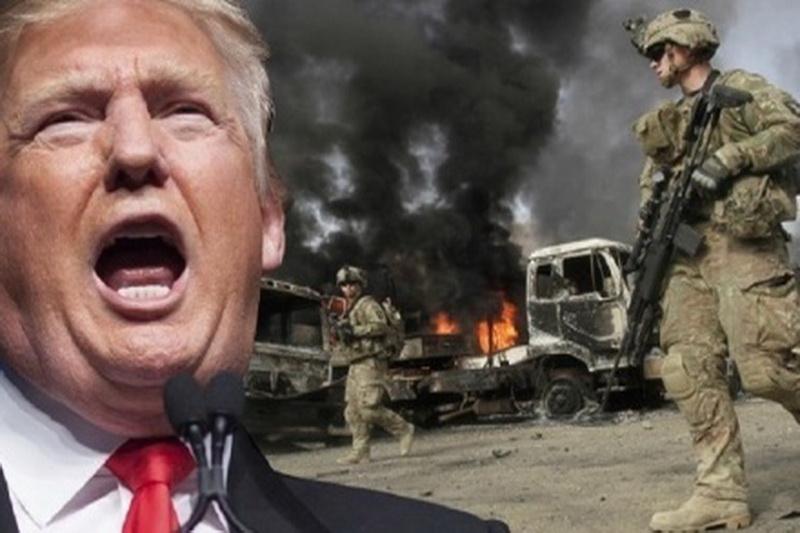 حضور نظامی آمریکا در افغانستان