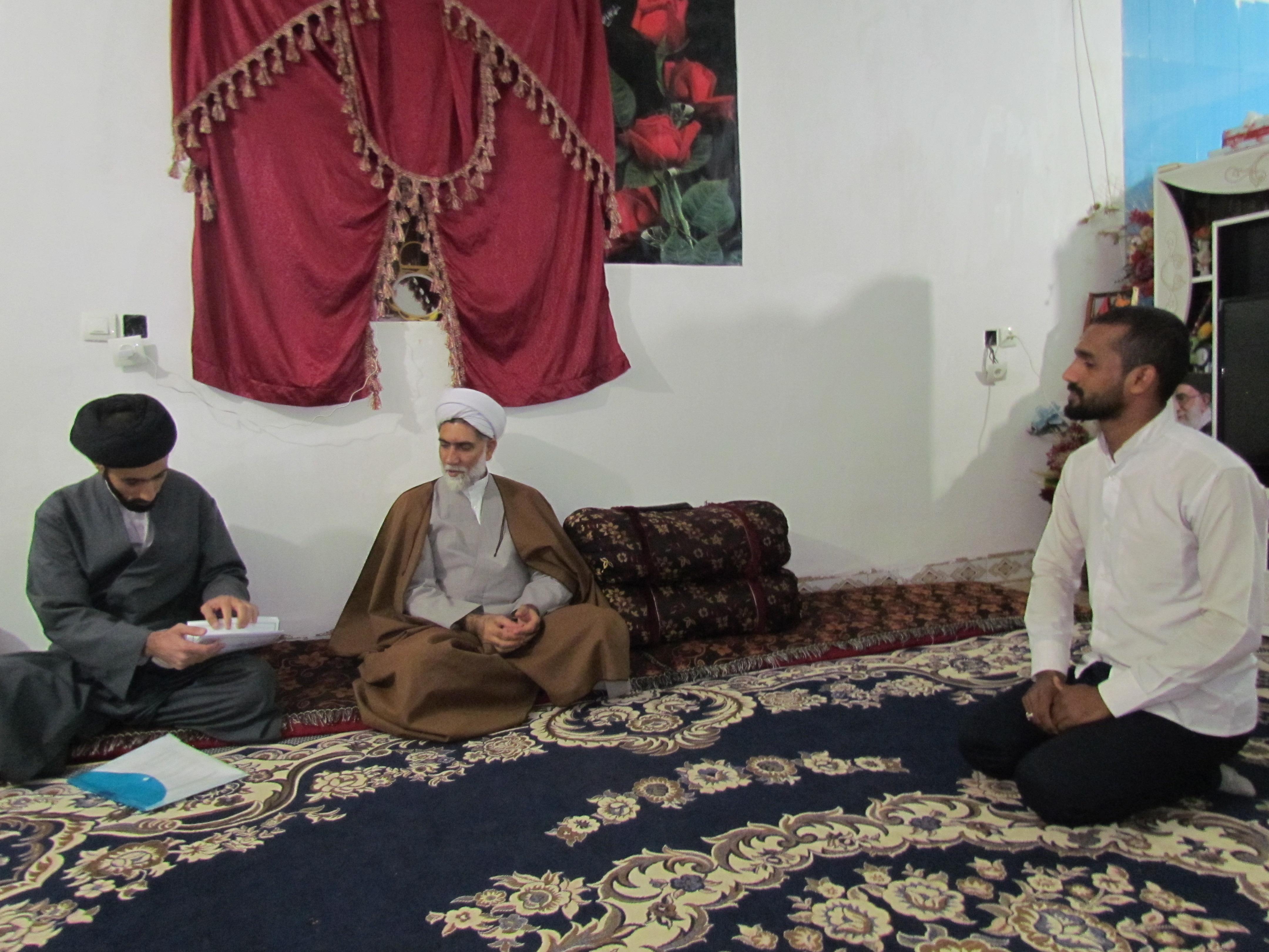سفر معاون تبلیغ حوزه کرمان به جنوب استان