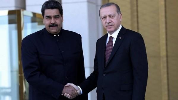 دیدار روسای جمهور ونزوئلا و ترکیه
