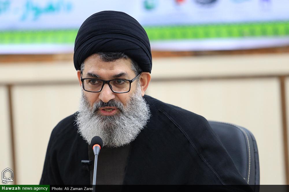 حجت الاسلام و المسلمین هاشم الحیدری ، معاون فرهنگی حشدالشعبی عراق