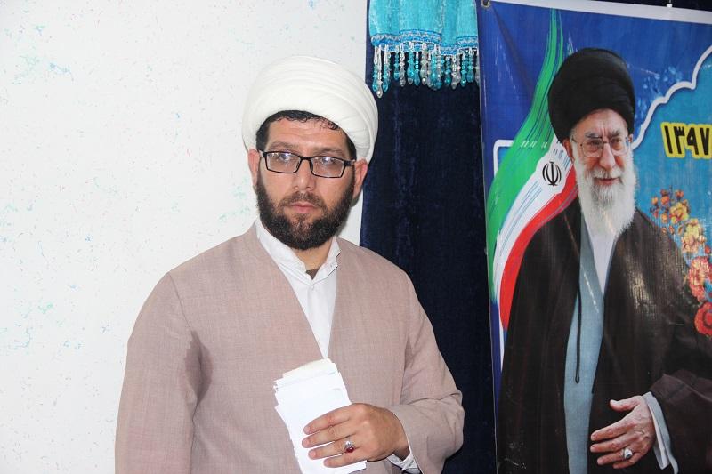حجت الاسلام غفوری-معاون تهذیب حوزه علمیه تاکستان