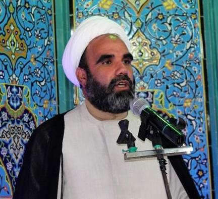 حجت الاسلام علی محمد لروند امام جمعه کنگاور در جمع مبلغین