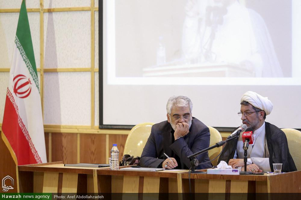 تصاویر/ مراسم گرامیداشت وحدت حوزه و دانشگاه در مدرسه علمیه معصومیه