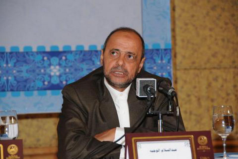 شیخ عبدالسلام عباس الوجیه دبیرکل انجمن علمای یمن
