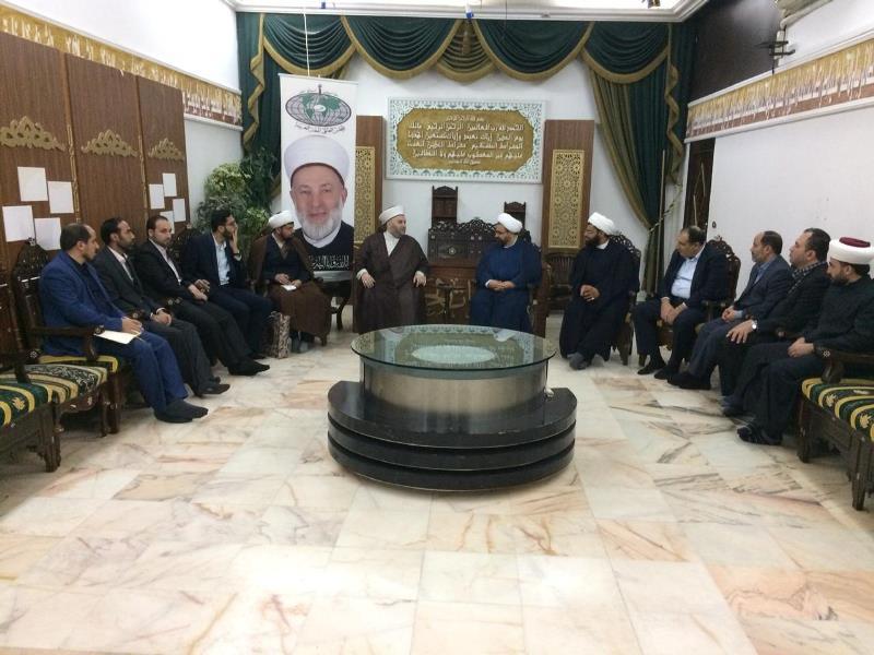 شیخ جبری در دیدار هیئت ایرانی
