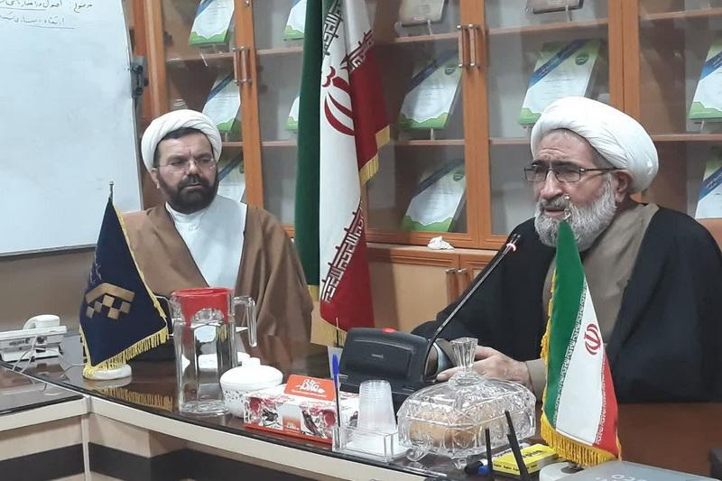جلسه طلاب آشتیان و فراهان