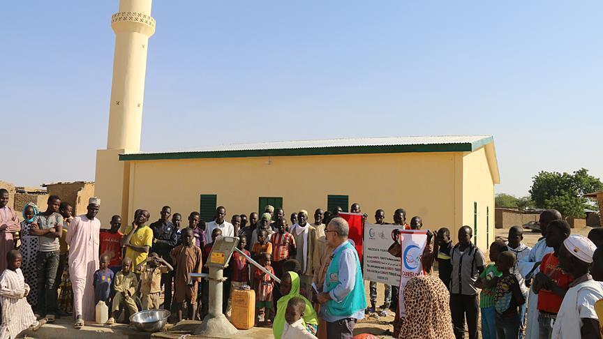 مسجدی در کامرون که توسط بوکوحرام تخریب شده بود، مرمت و بازسازی گردید