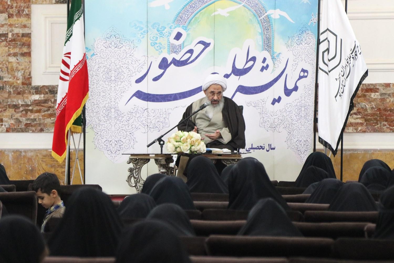 همایش طلیعه حضور حوزه علمیه خواهران استان بوشهر