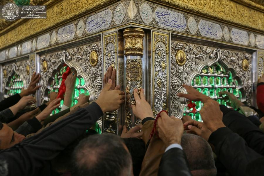 حضور میلیونی زائرین در حرم امیرالمؤمنین(ع) به مناسبت میلاد حضرت زینب(س)