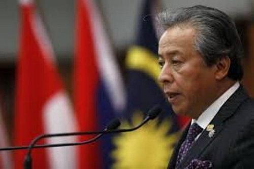 وزیر خارجه مالزی