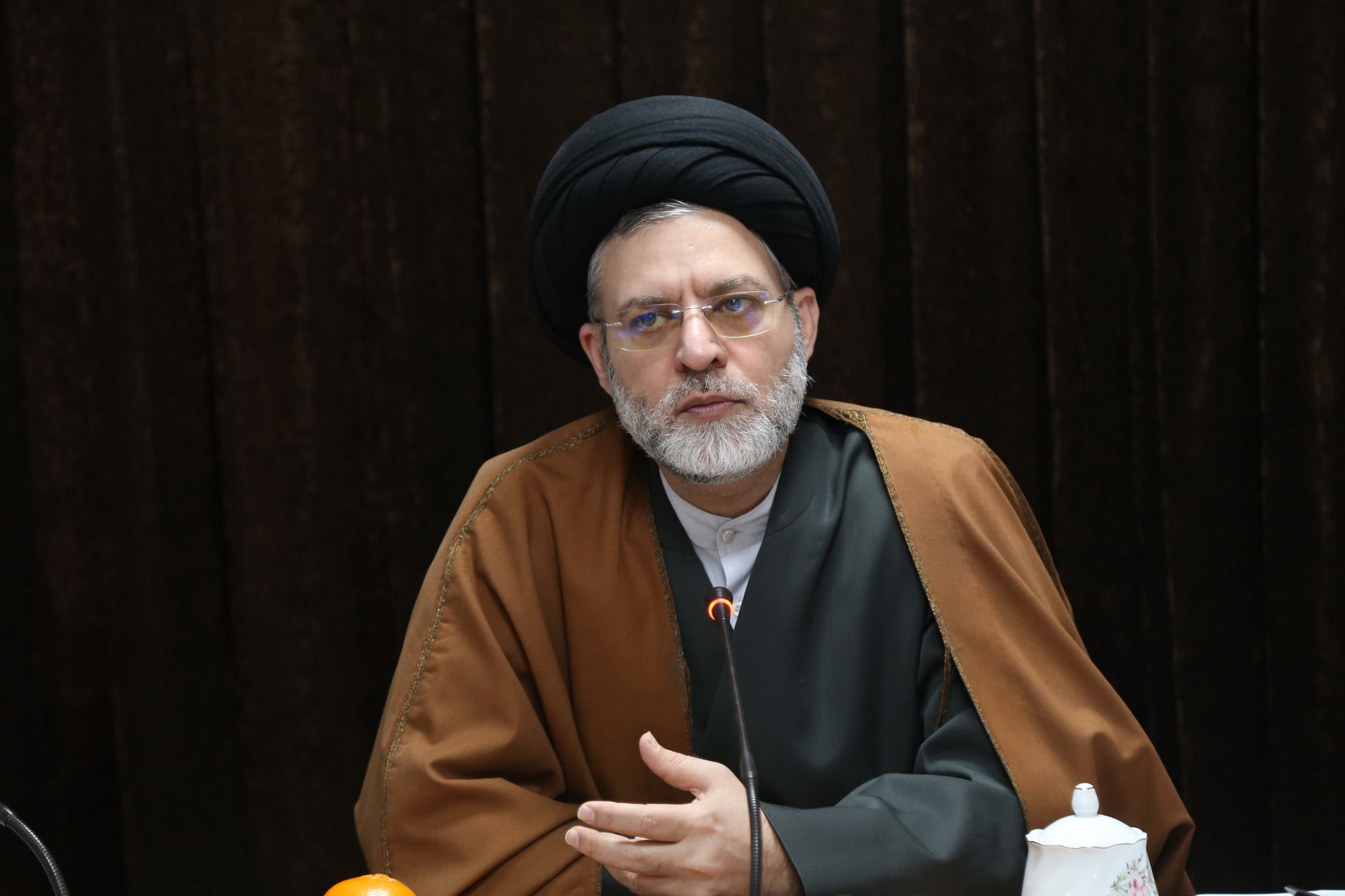 حجت الاسلام هاشمی معاون پژوهش سطح عالی حوزه