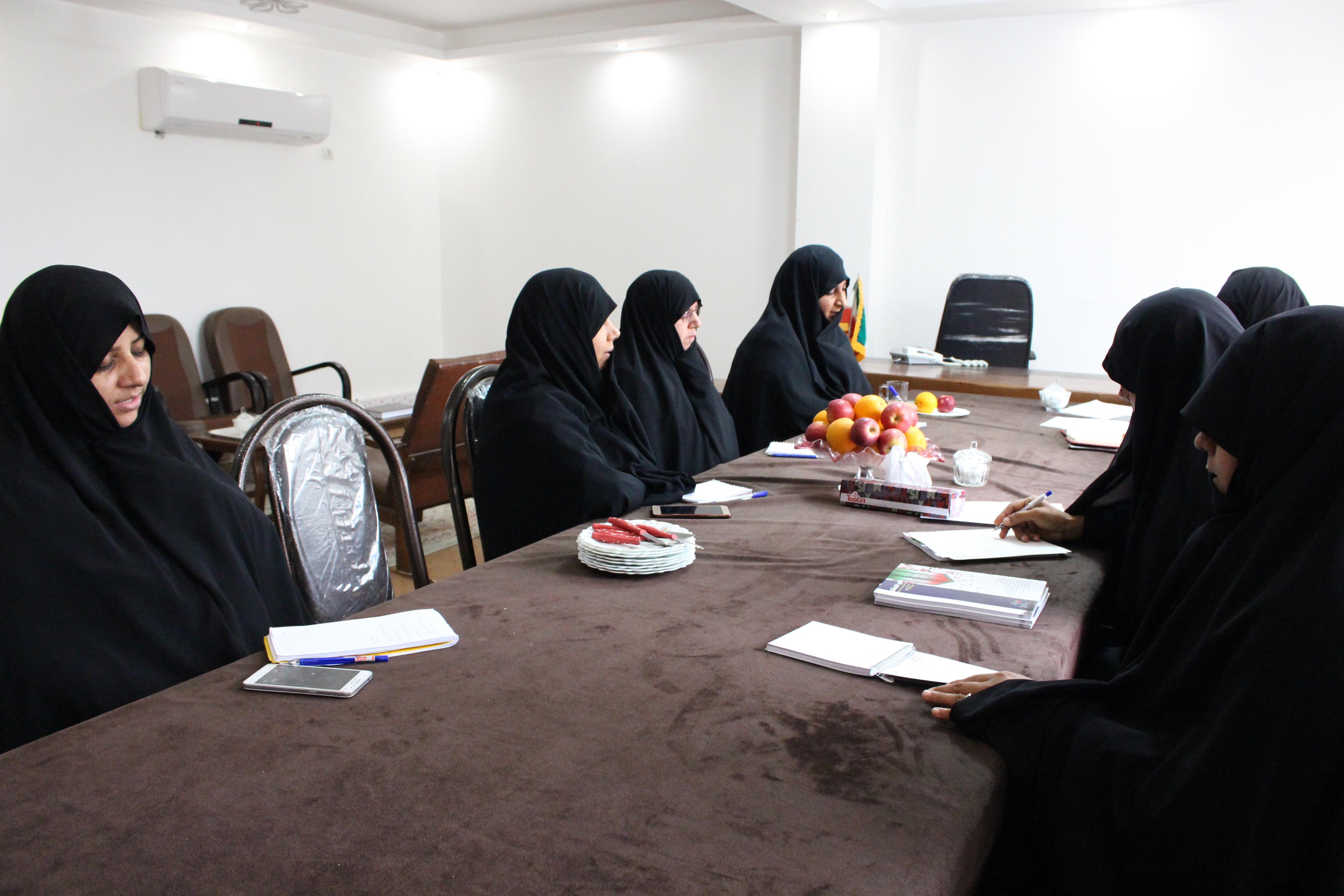 نشست فصلی مدیران مدارس علمیه خواهران استان هرمزگان