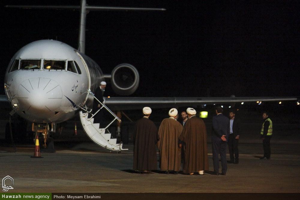 تصاویر/ سفر آیت الله اعرافی به شیراز-۱