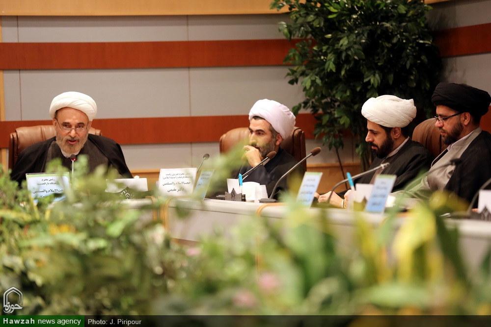 تصاویر/ نشست خبری اعضای شورای علمی «طرح گفتمان علمی انقلاب اسلامی»
