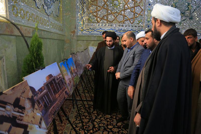 نمایشگاه فاجعه سامرا در صحن حرم امامین عسکریین(ع) برپا شد
