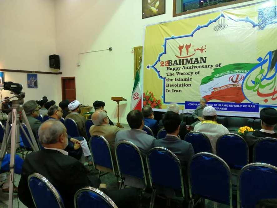 جشن چهلمین سالروز انقلاب اسلامی در شهرهای مختلف هند و کشمیر برگزار شد+تصاویر