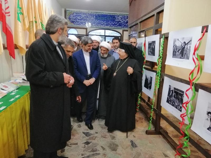 مراسم سالگرد انقلاب اسلامی در بعلبک