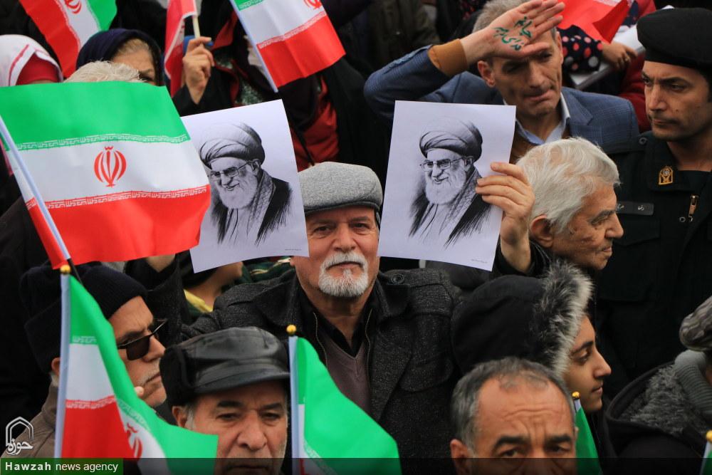 گزارش تصویری  حضور پرشور آحاد مردم اصفهان در راهپیمایی ۲ ۲بهمن