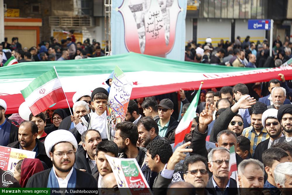 راهپیمایی ۲۲ بهمن اهواز