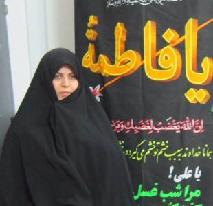 معاون فرهنگی مدرسه علمیه شهیده بنت الهدی علی آباد کتول: