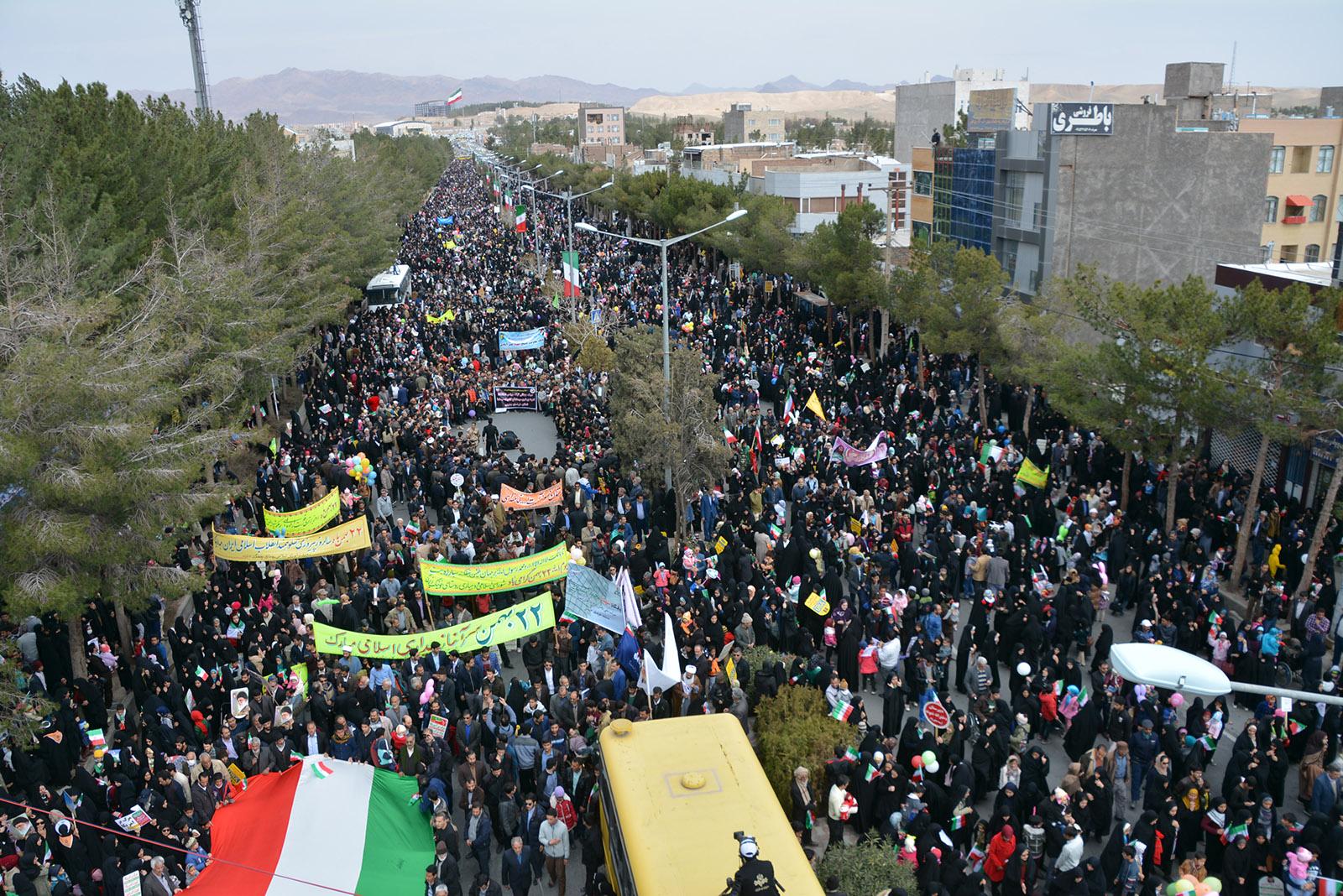 راهپیمایی ۲۲ بهمن بیرجند
