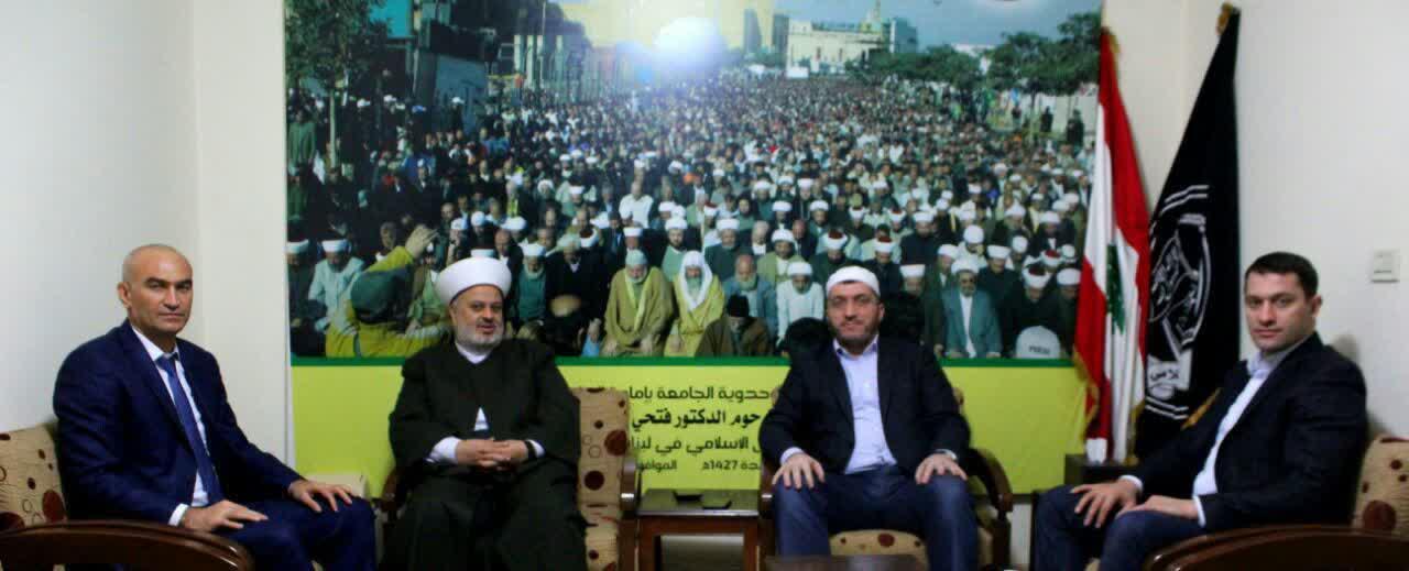 جبهه عمل اسلامی لبنان و مسئولین دینی داغستان