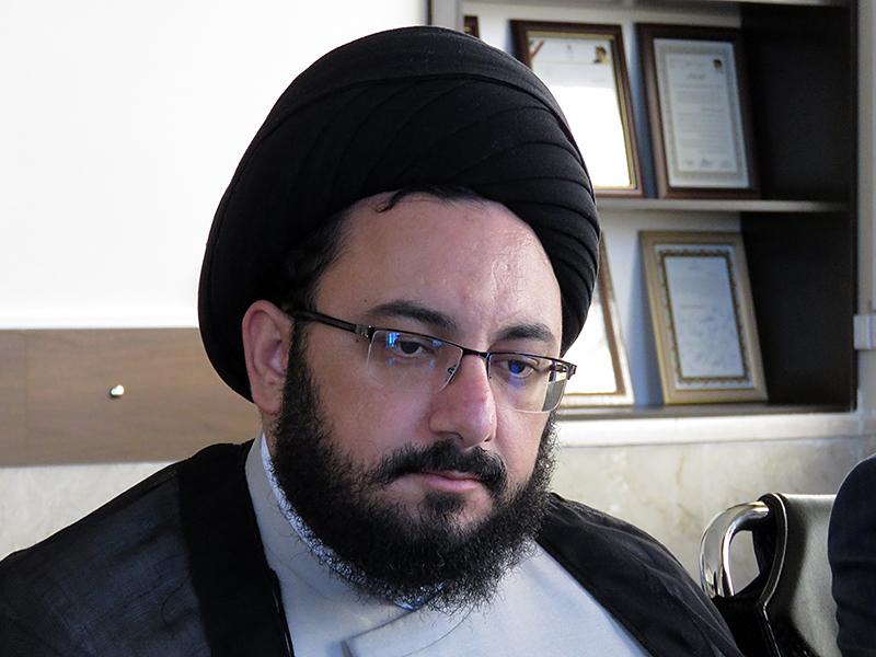 حجت الاسلام سید عباس حسینی پور ، معاون آموزش حوزه علمیه یزد