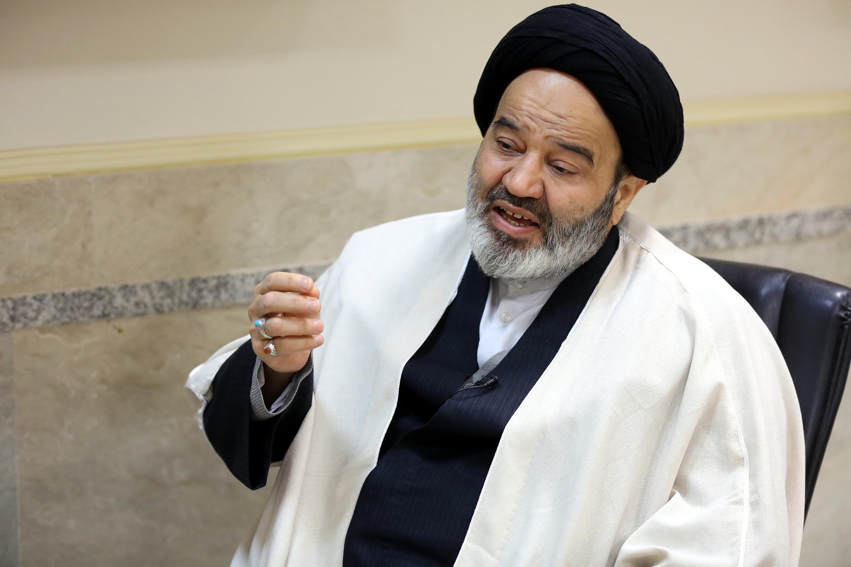 حجت الاسلام والمسلمین سید ابوالحسن نواب رئیس دانشگاه ادیان و مذاهب