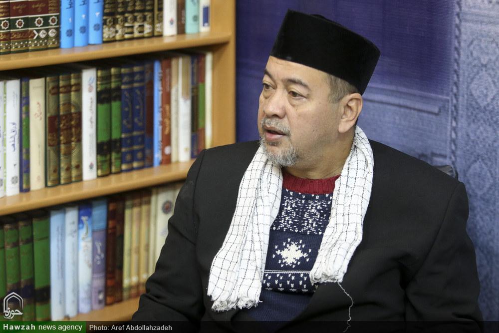 حسن دلیل رئیس اجرایی سازمان اهل بیت اندونزی