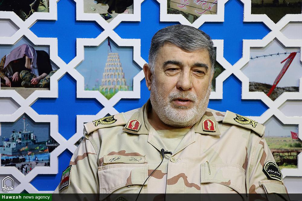 سردار عبدالله نظرپور ، فرمانده مرزبانی استان خوزستان