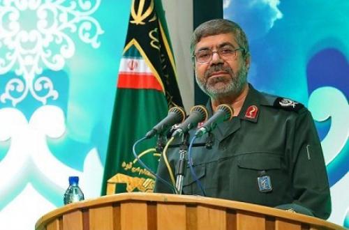 سردار سرتیپ دوم پاسدار رمضان شریف سخنگو و مسئول روابط عمومی کل سپاه