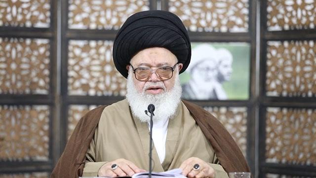 آیت الله سید عبد الله غریفی از علمای بحرین