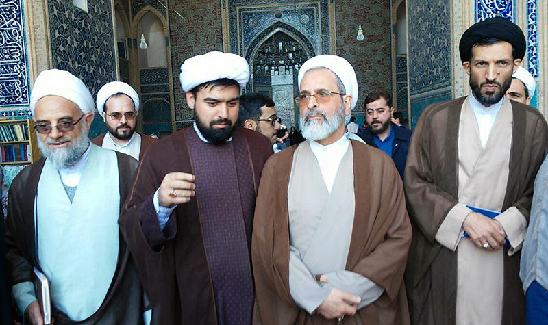 بازدید مدیر حوزه های علمیه از مسجد جامع یزد