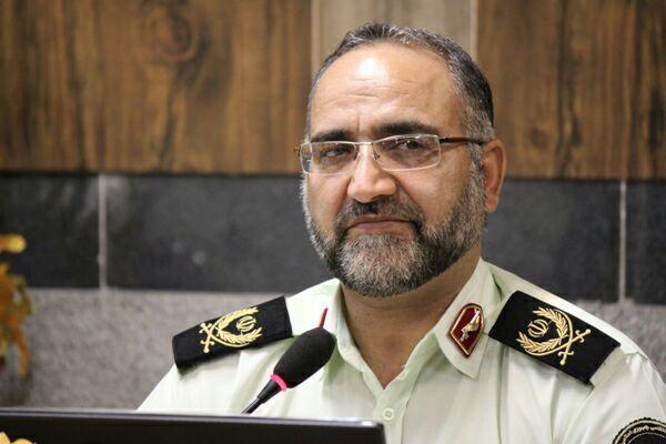 سردار میرحیدری ، فرمانده نیروی انتظامی استان یزد