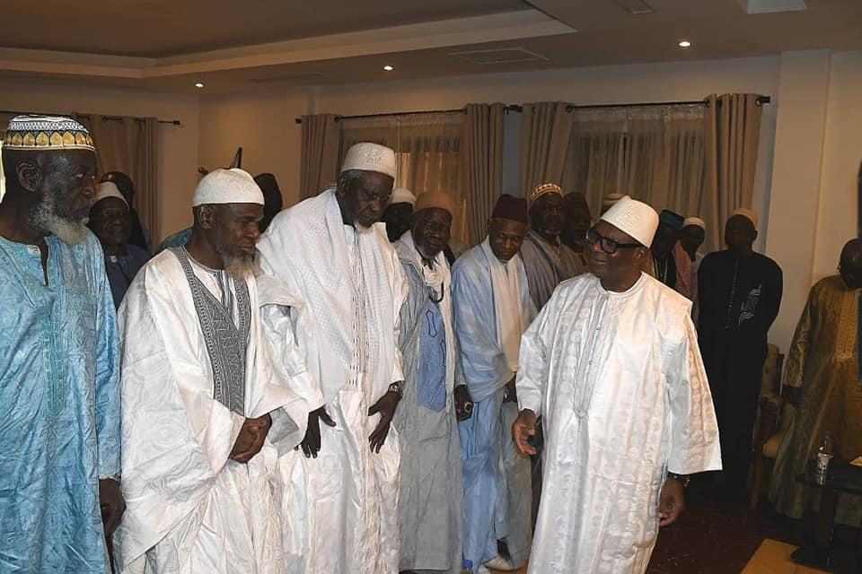 رئیس جمهور مالی با اعضای شورای عالی اسلامی این کشور ملاقات کرد