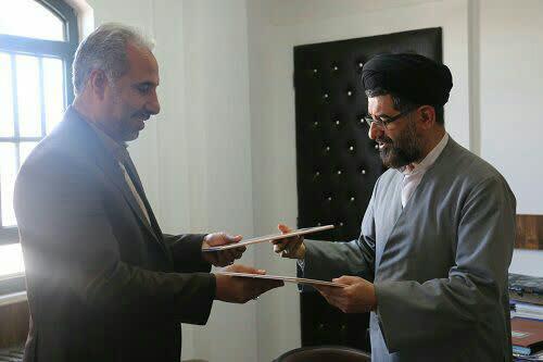 انعقاد تفاهنامه همکاری بین اداره کل تبلیغات اسلامی و اداره کل زندانهای استان یزد