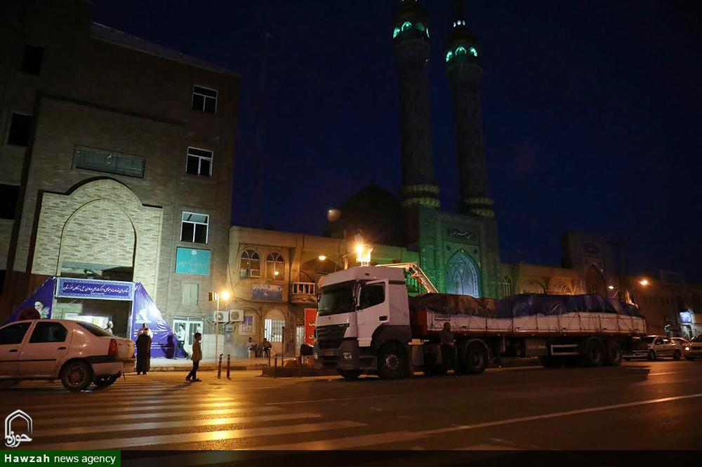 محموله کمکهای مردم هرمزگان به سیل زدگان خوزستان