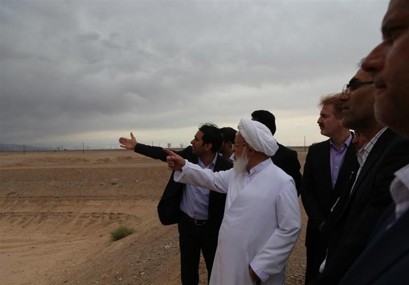 بازدید امام جمعه یزد از وضعیت رودخانه های استان