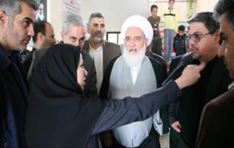 حجت الاسلام آیت ا... عباسیان مدیر کل اوقاف و امور خیریه کرمانشاه: