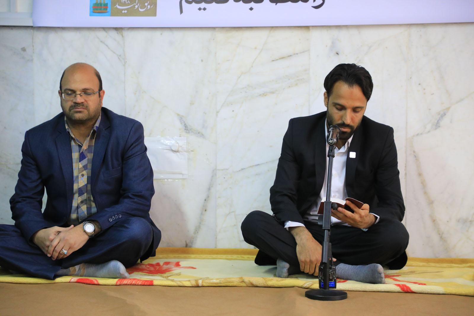دیدار مدیر شرکت پخش فرآورده های نفتی استان با امام جمعه بیرجند