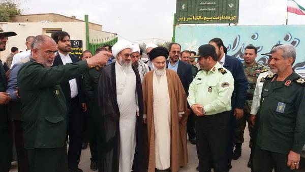 آیت الله حسینی بوشهری وارد استان خوزستان شد