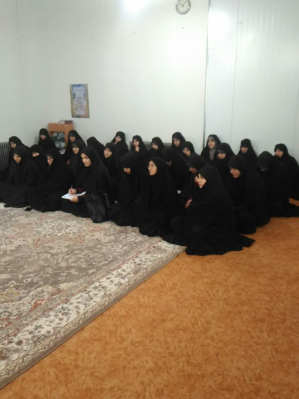 درس اخلاق حوزه خواهران رودبار
