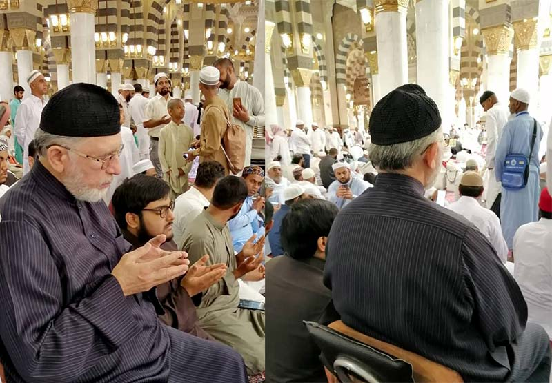 روحانی برجسته اهل سنت پاکستان به زیارت قبور ائمه بقیع رفت+تصاویر