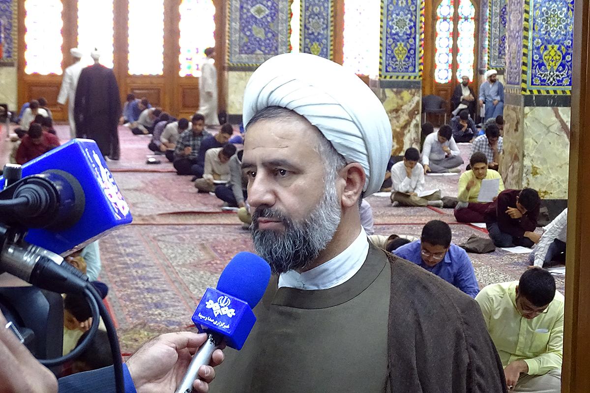 برگزاری آزمون حوزه علمیه استان یزد