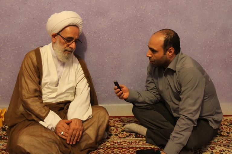 حجت الاسلام والمسلمین فرخ فال در گفت وگو با حوزه
