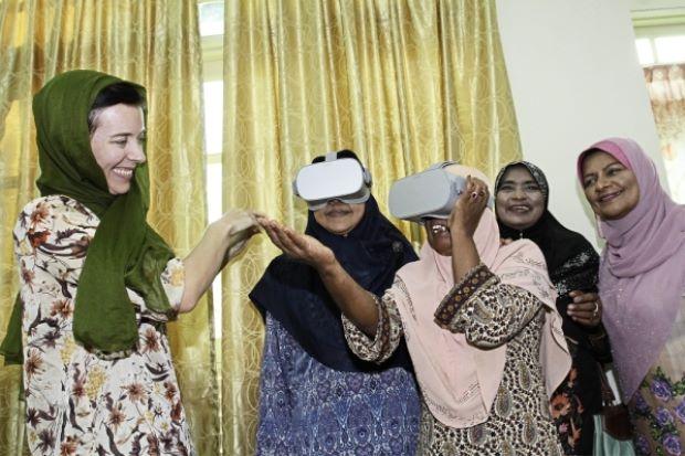فیلم سه بعدی مستند توسط مسجد مالزی ساخته شد
